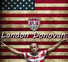 United States - Landon Donovan by Whallef