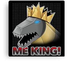 Grimlock King! Canvas Print