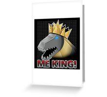 Grimlock King! Greeting Card