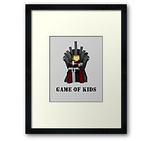 GAME OF KIDS Framed Print