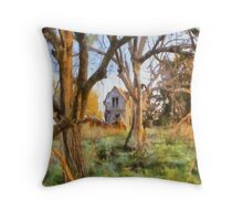 """"""" Old House Painted """" Throw Pillow"""