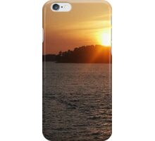 Setting Ships iPhone Case/Skin