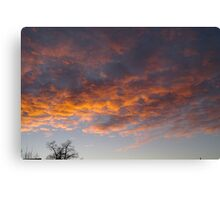 Those Clouds  Canvas Print