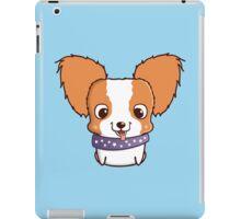 Cute little papillon puppy iPad Case/Skin