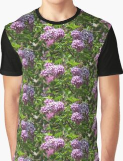 Violet Lilacs Graphic T-Shirt