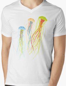 Jellyfish Mens V-Neck T-Shirt