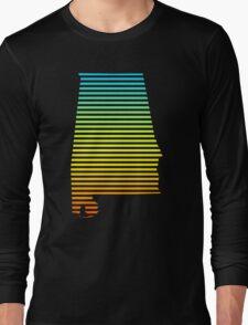 alabama chill fade Long Sleeve T-Shirt