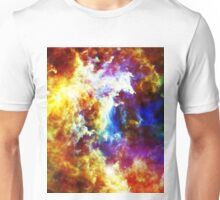 galaxy outerspace Unisex T-Shirt