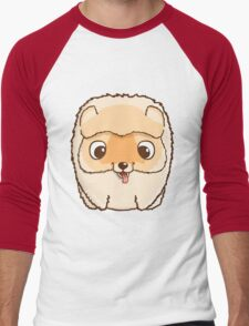 Cute little pomeranian puppy Men's Baseball ¾ T-Shirt