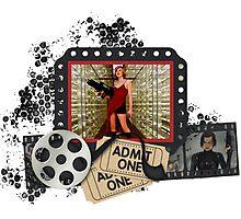 Resident Evil Milla Jovovich Photographic Print