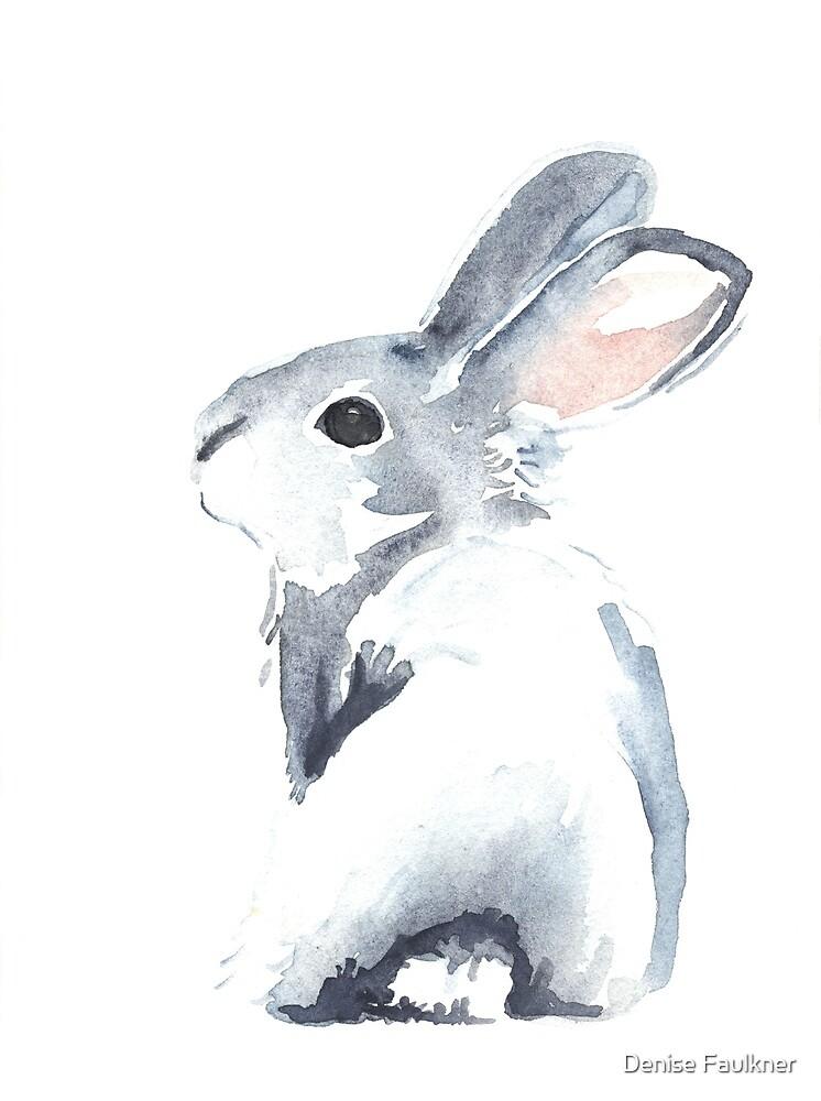 Moon Rabbit I By Denise Faulkner Redbubble