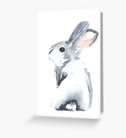 Moon Rabbit I Greeting Card
