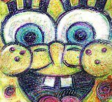 Happy Sponge by Lincke