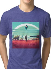 NO MAN SKY Tri-blend T-Shirt
