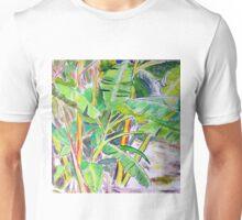 Banana Palm in the Tropics Unisex T-Shirt