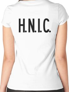 H.N.I.C. Head Nigga In Charge | FRESH Women's Fitted Scoop T-Shirt