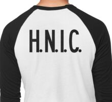 H.N.I.C. Head Nigga In Charge | FRESH Men's Baseball ¾ T-Shirt