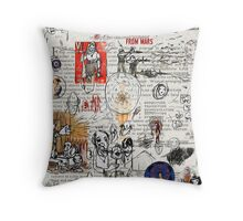 phil jarry - ok - 323 Throw Pillow