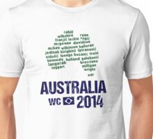 Australia WC 2014 Unisex T-Shirt