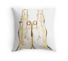 Clapping Hands Throw Pillow