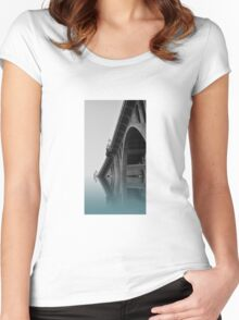 Bridge two Bridge Women's Fitted Scoop T-Shirt