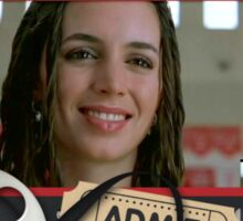 Buffy's Eliza Dushku Bring It On Sticker