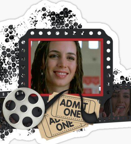 Buffy's Eliza Dushku Bring It On Sticker