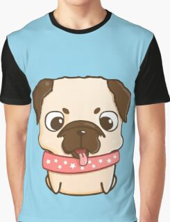 Cute little pug puppy Graphic T-Shirt