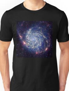 Messier 101 Spiral Galaxy Astronomy Image Unisex T-Shirt