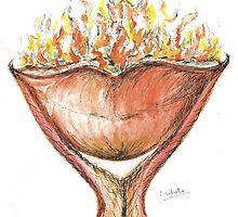 Burning Hot Lips by Teresa White
