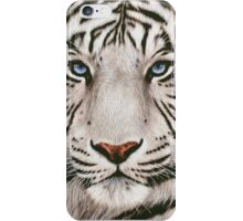 awesome white tiger iPhone Case/Skin