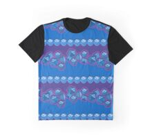 Lucky Dice - Blue Graphic T-Shirt