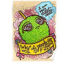 Spiky Sweetness Poster