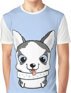 Cute little siberian husky puppy Graphic T-Shirt