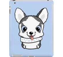 Cute little siberian husky puppy iPad Case/Skin