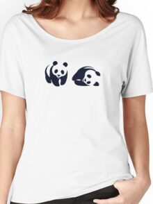 wwf funny logo Women's Relaxed Fit T-Shirt
