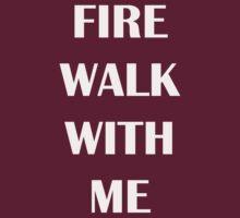 Twin Peaks - Fire Walk With Me (White) by Super Godzilla