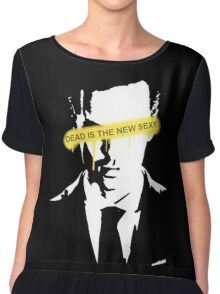 Jim Moriarty Dead is the new sexy Chiffon Top
