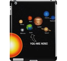 Space Solar System Funny T-Shirt iPad Case/Skin