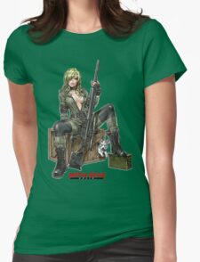 metal gear sniper wolf Womens Fitted T-Shirt