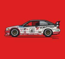 BMW 3 Series E36 M3 GTS-2 PTG Race Car Kids Tee