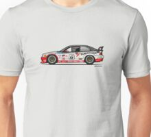 Bavarian 3 Series E36 M GTS-2 PTG Race Car Unisex T-Shirt
