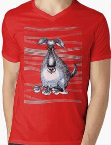Stay? Mens V-Neck T-Shirt