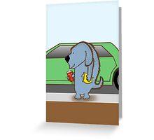 Justin Dogger Greeting Card