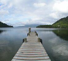 Solitary Pier by davidandmandy