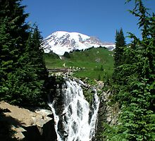 Hiking Mt. Rainier by davidandmandy