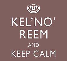 Kel'no'reem and keep calm by boogiebus