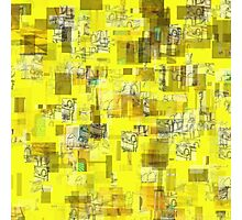 BITS & PIECES AND YELLOW Photographic Print
