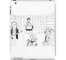 Doctor WHO Band iPad Case/Skin