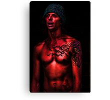 cHRIS _ rED Canvas Print